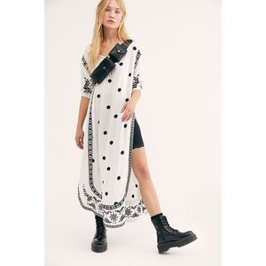 New Free People Adorned Maxi Top $148 SMALL